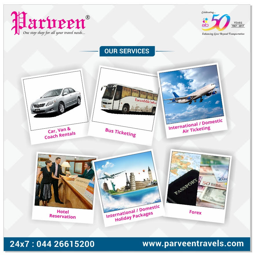 Parveen Travels is the first travel partner for the #OvercomeOckhi initiative
