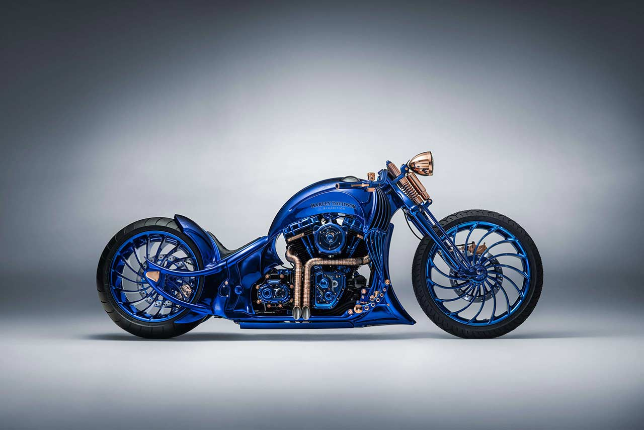 Bucherer-Harley-Davidson-Blue-Edition-Custom-Motorcycle-by-Bundnerbike-2018