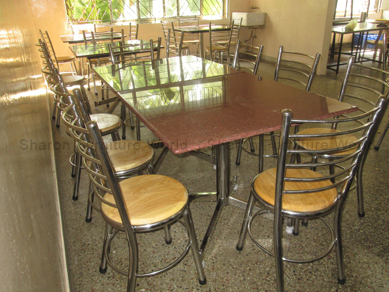 The dining table designed for the Central Institute of Brackishwater Aquaculture, Chennai