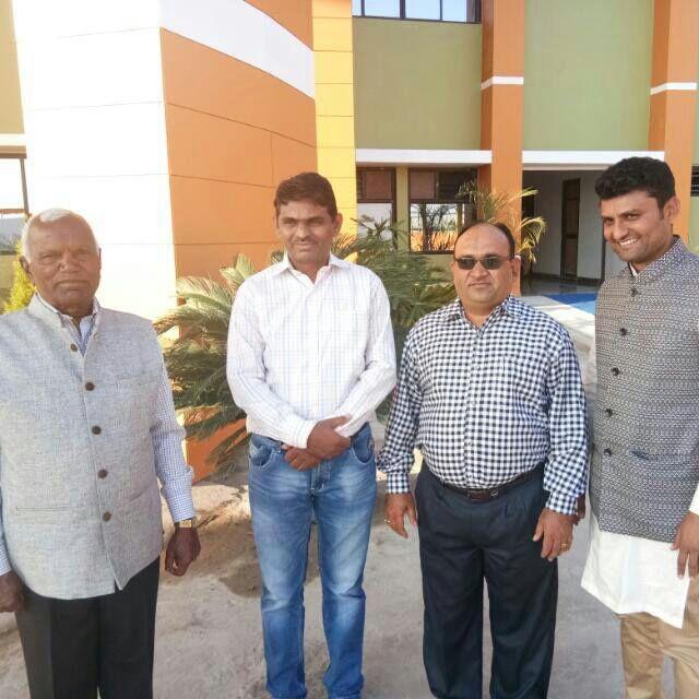 The core team behind Sri Krishna Super Bazaar