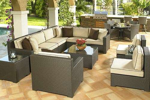 The variety of designs offered by Royal Cane Furniture can help you make a style statement