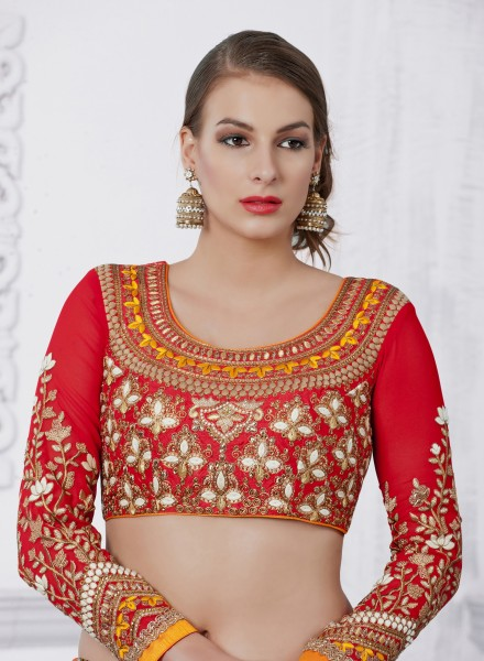 Blouses with the latest embroidery are the biggest attractions at Diyas fashion boutique